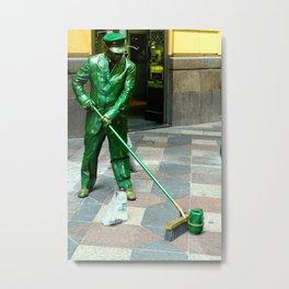 Statue? Metal Print