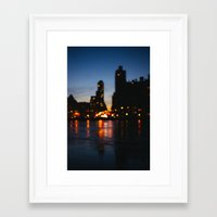 bokeh Framed Art Prints featuring Bokeh by Julia Yusupov