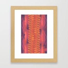 Lava Lamp Skies Framed Art Print