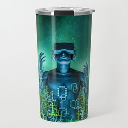 Virtual Dawn Travel Mug