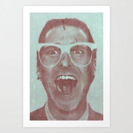 Patrick Bateman - The Hipster (Feat. Marta Macedo) Art Print