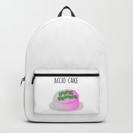 Magic cute Accio Cake Watercolor Backpack