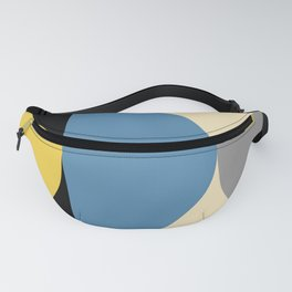 Mid Century Modern Geometric Abstract 240 Fanny Pack