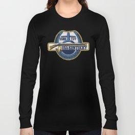 USS KENTUCKY (SSBN-737) PATCH Long Sleeve T-shirt
