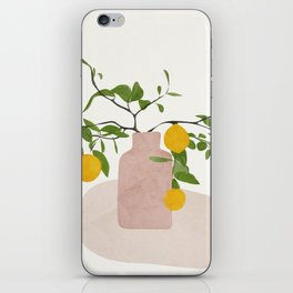 Lemon Branches iPhone Skin