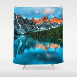 Lake Louise - Alberta, Canada Landscape Shower Curtain