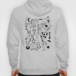 Stick and Poke Tattoo Hoody