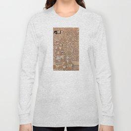 Gustav Klimt - The Expectation Long Sleeve T-shirt