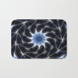 Blue Kaleidoscope 8 Bath Mat