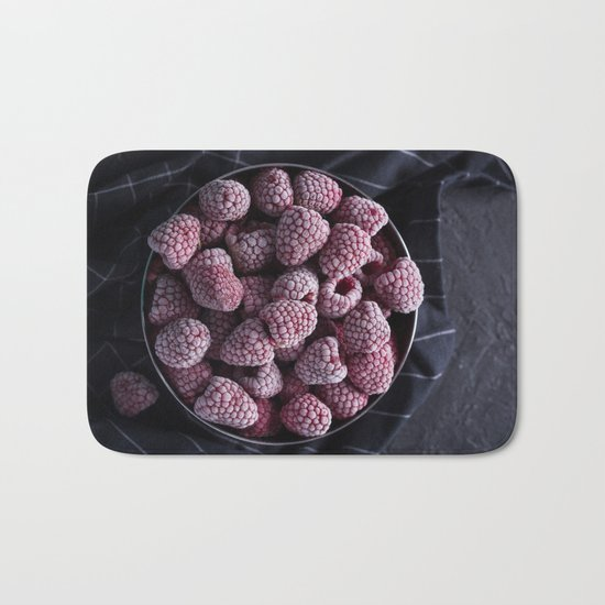 frozen berries Bath Mat