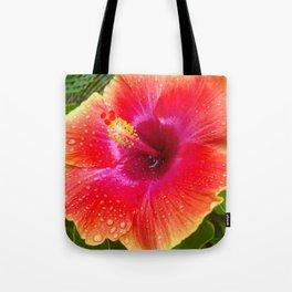 tropical morning Tote Bag