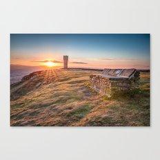 The last sunrise in April Canvas Print