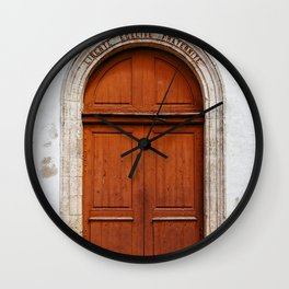 Liberty, equality and fraternity Wall Clock