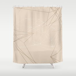 LIGHT LINES ENSEMBLE III Shower Curtain