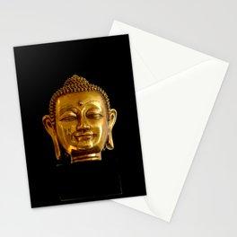 Golden Buddha by Lika Ramati Stationery Cards