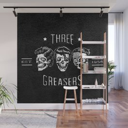 The Three Greasers Wall Mural