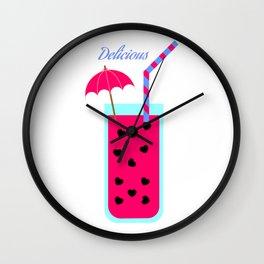 Watermelon Love Wall Clock