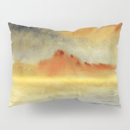 Minimal seascape 03 Pillow Sham