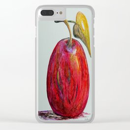 Kaleidoscope Apple or APPLE FOR THE TEACHER Clear iPhone Case