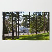 community Area & Throw Rugs featuring South Park Community Center by Vorona Photography