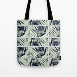 Green Palm Leaves Pattern #1 #decor #art #society6 Tote Bag