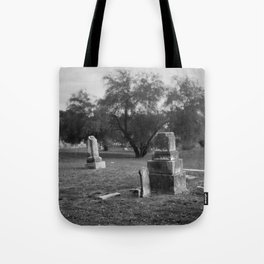 Headstones In City Cemetery Tote Bag