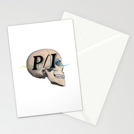 Photon Illustration Skull Stationery Cards
