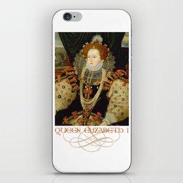 Queen Elizabeth I of England (1) iPhone Skin