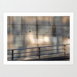 SquareStones Art Print