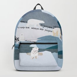 Respect Mother Nature 1 Backpack
