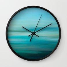 Greenish Blue Sea Wall Clock