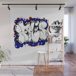 Tag Me Wall Mural