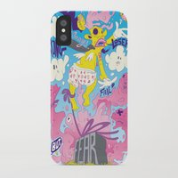 fear iPhone & iPod Cases featuring Fear by Matteo Cuccato - Strudelbrain