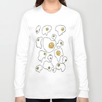 egg Long Sleeve T-shirts featuring Egg  by Kimberly Bones