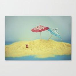 Doggy island Canvas Print