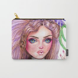 Liliana Octopus Girl Fantasy Surreal Art Carry-All Pouch