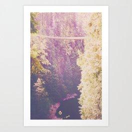 A Walk in the Treetops Art Print