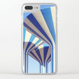 Kuwait Water Towers Clear iPhone Case