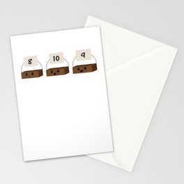 Brownie Points Stationery Cards