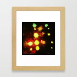 Stage Lights Framed Art Print