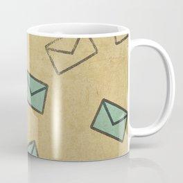 Letter Coffee Mug