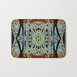ABSTRACT ICICLES Bath Mat
