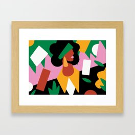 Looking Further Framed Art Print