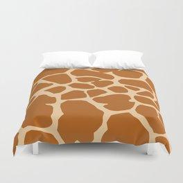 Giraffe pattern Duvet Cover