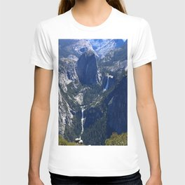 Vernal Falls And Nevada Falls T-shirt
