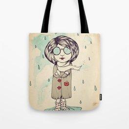 In the Rain Tote Bag