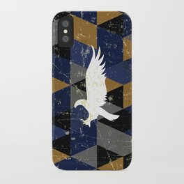 Ravenclaw House Pattern iPhone Case