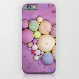 Bubbles Art Granola iPhone Case