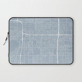 Tempe Map, USA - Slate Laptop Sleeve