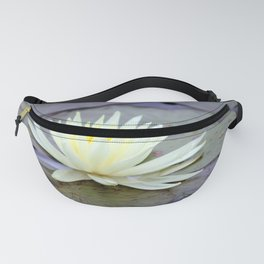 Light Yellow Waterlily Fanny Pack